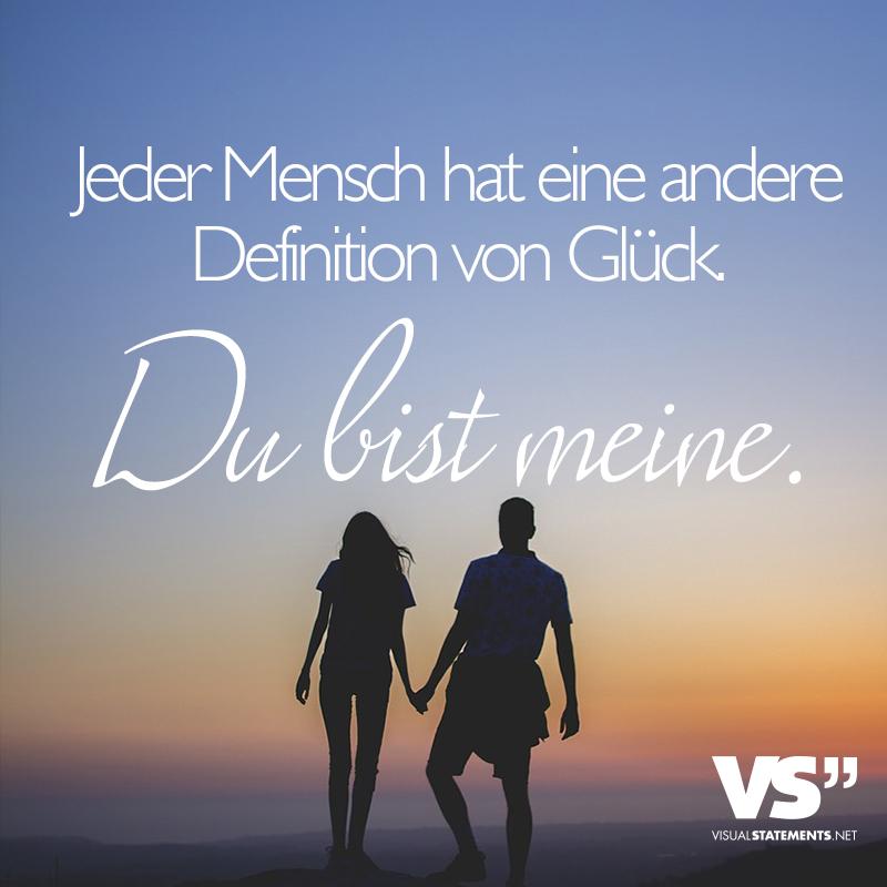 Inspiration Du Bist Mein Glück Sprüche - Sammlung