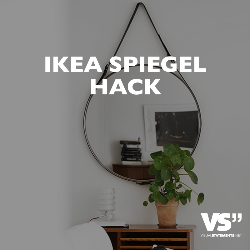 die 10 besten ikea hacks f r dein zuhause visual statements. Black Bedroom Furniture Sets. Home Design Ideas