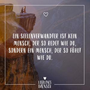 spruch seelenverwandt - VISUAL STATEMENTS®