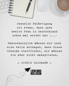 spruch belaestigung - VISUAL STATEMENTS®