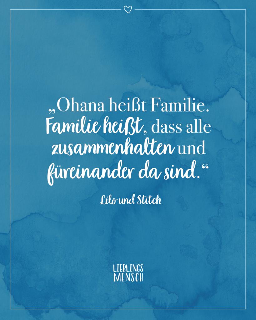 Ohana Heißt Familie Deutsch